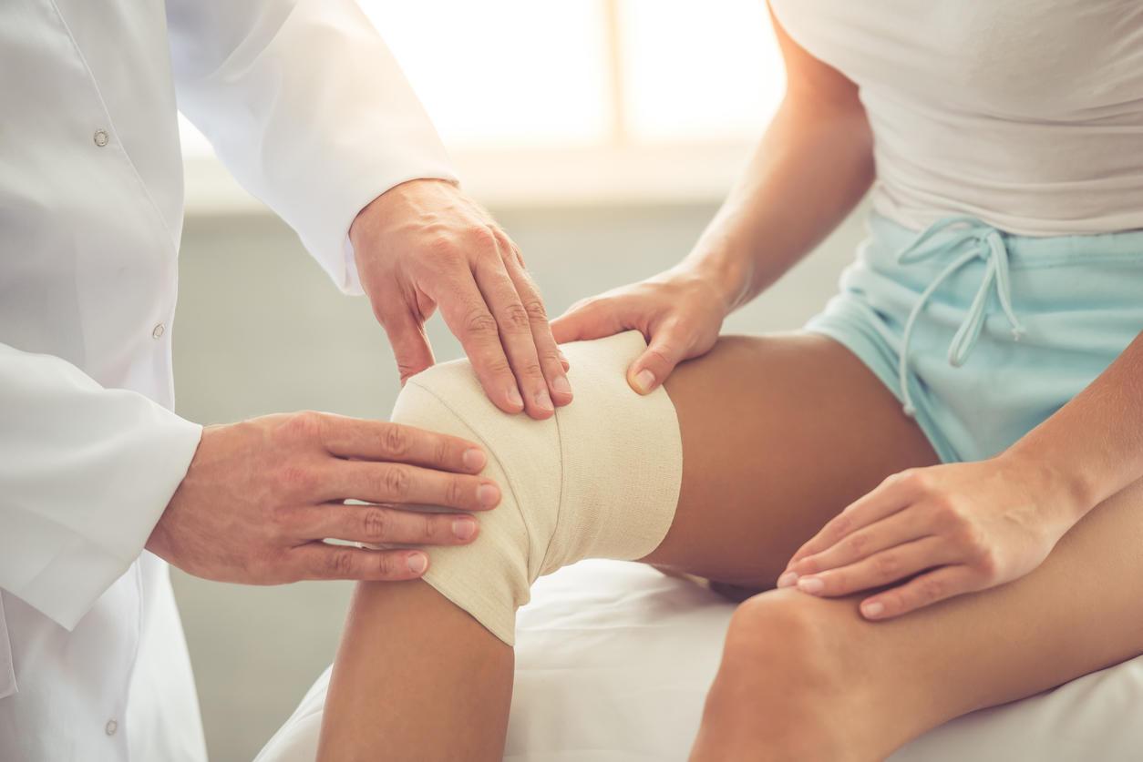 Douleur au genou quand il est plié : pourquoi ?
