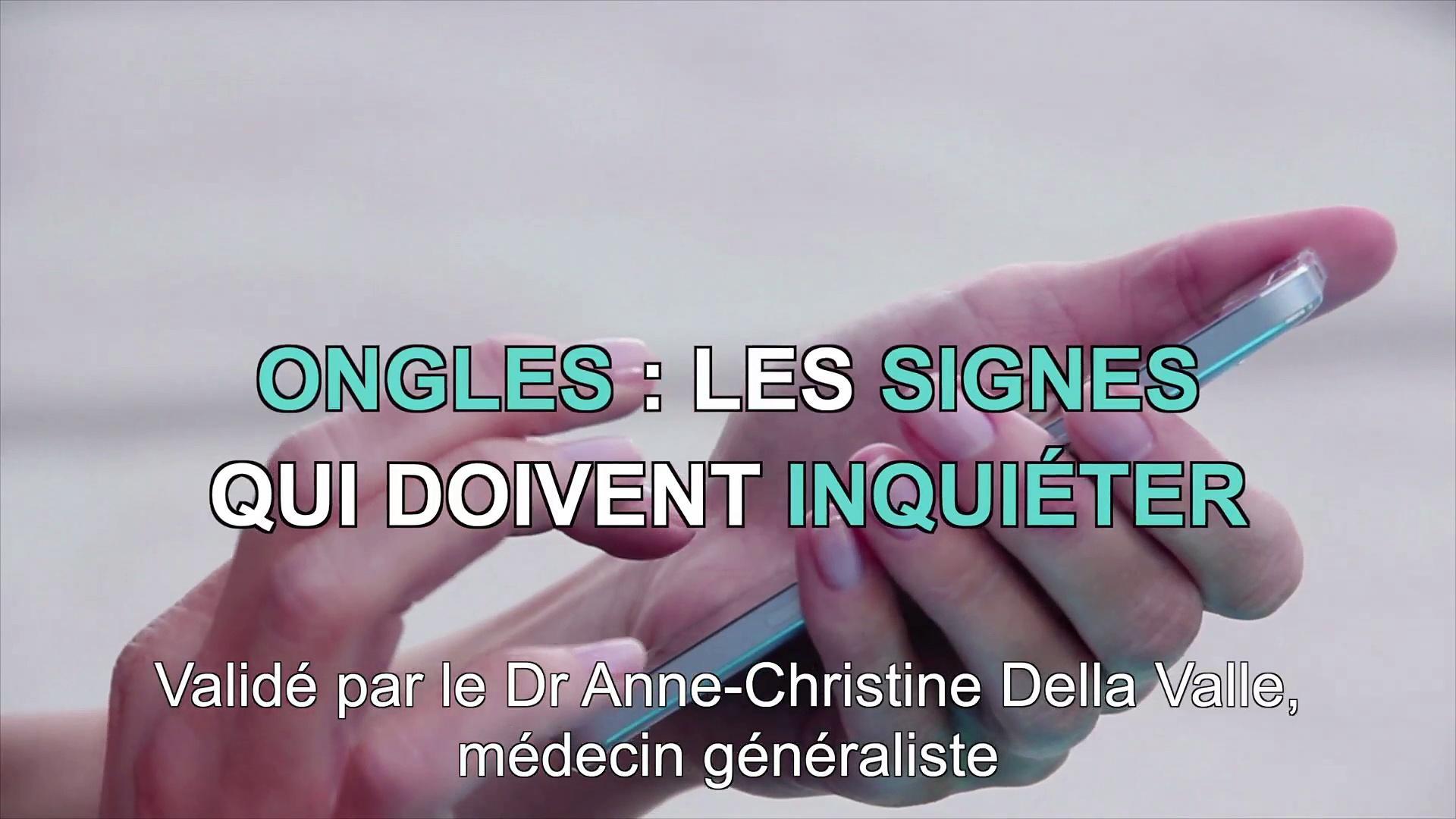 Ongles 3 Signes Dalerte