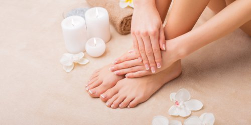 French pedicure, mode d-emploi !