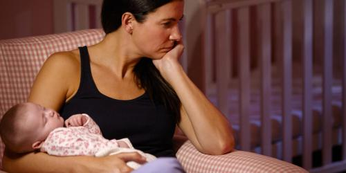 Depression post-partum : quand s-inquieter