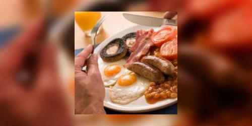 Debile : manger un English Breakfast a 8000 calories !