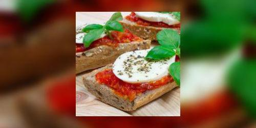 Sandwich fromage- tomates