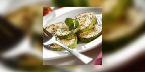 Courgettes braisees