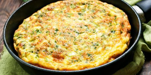 Omelette a l-oseille