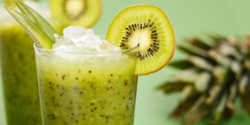 Cocktail de kiwis au gingembre